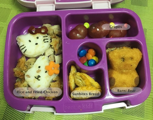 January 3 Hello Kitty Bento