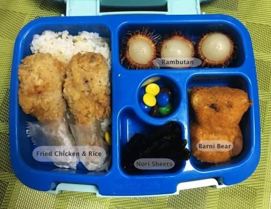 January 3 Bento Fried Chicken