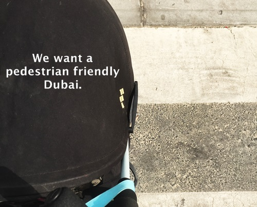 Pedestrian Friendly Dubai