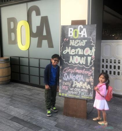 Boca New Menu