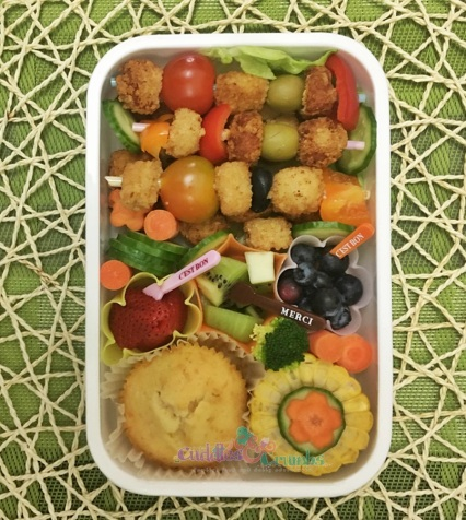 Chicken Popcorn Bento Lunchbox