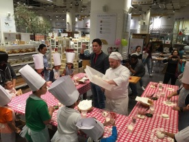 Eataly Pizza Workshop with Kids