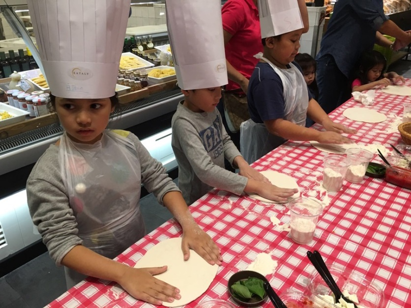 Eataly Pizza Kids Worshop