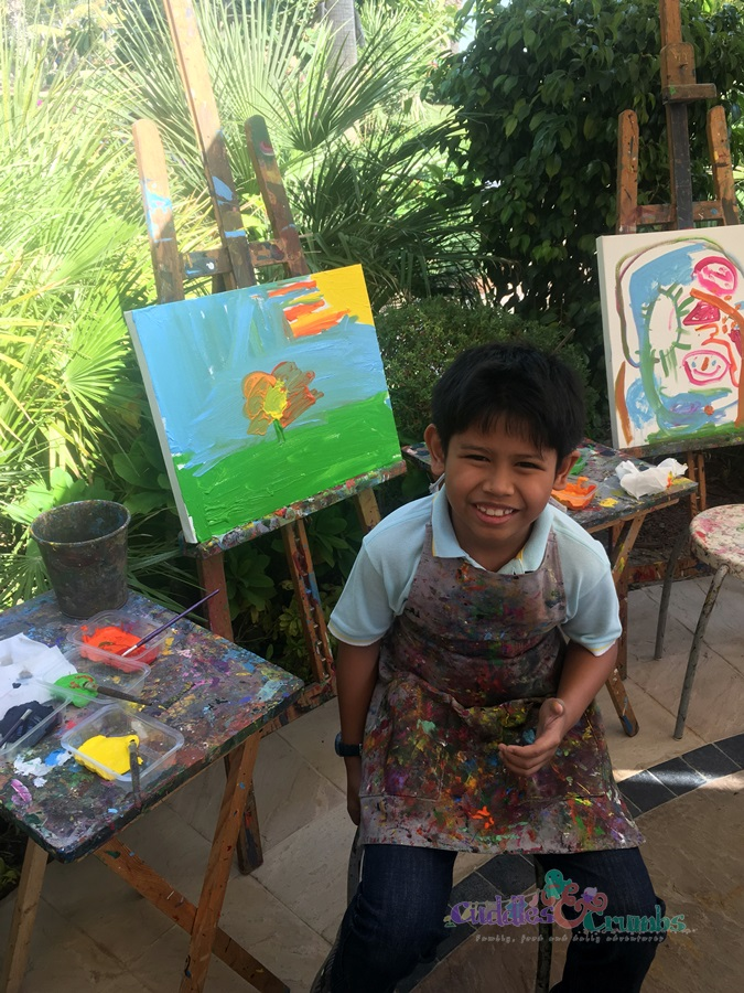 The Jam Jar Painting Session Atlantis The Palm