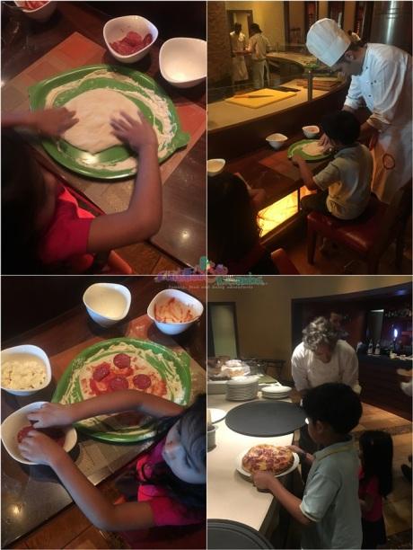 Locatelli Brunch Pizza Making