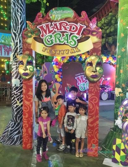 Mardi Gras at Adventureland