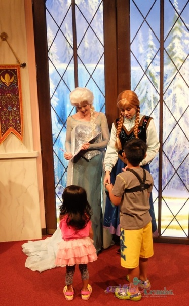 DisneyFrozen Anna & Elsa Authograph