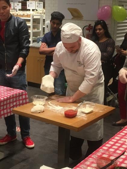 Eataly Pizza Chef Enzo