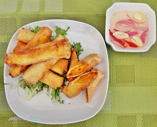 Fried Fish Spring Rolls