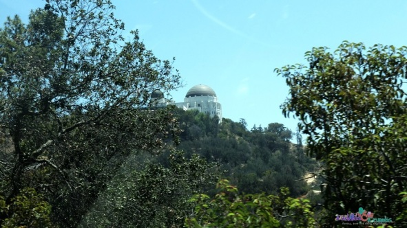 Griffith Observatory On Top