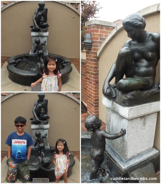 Allen Memorial Mother and Child Fountain Kansas City