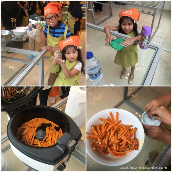 DeLonghi Multifry Sweet Potato Fries