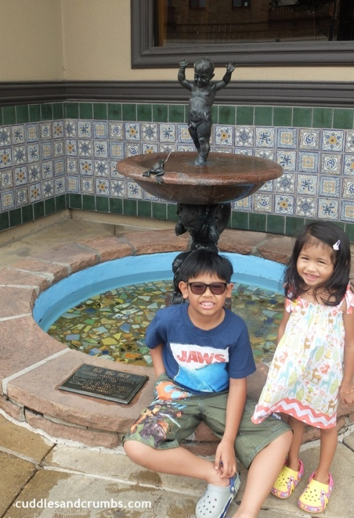 Boy and Frog Fountain Kansas City