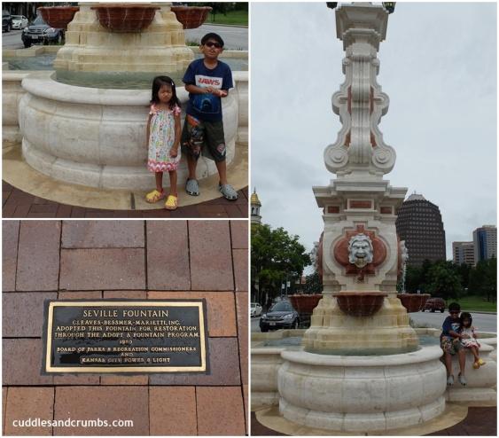 Seville Light Fountain Kansas City