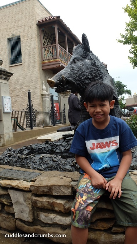 Wild Boar of Florence Sculpture Kansas City