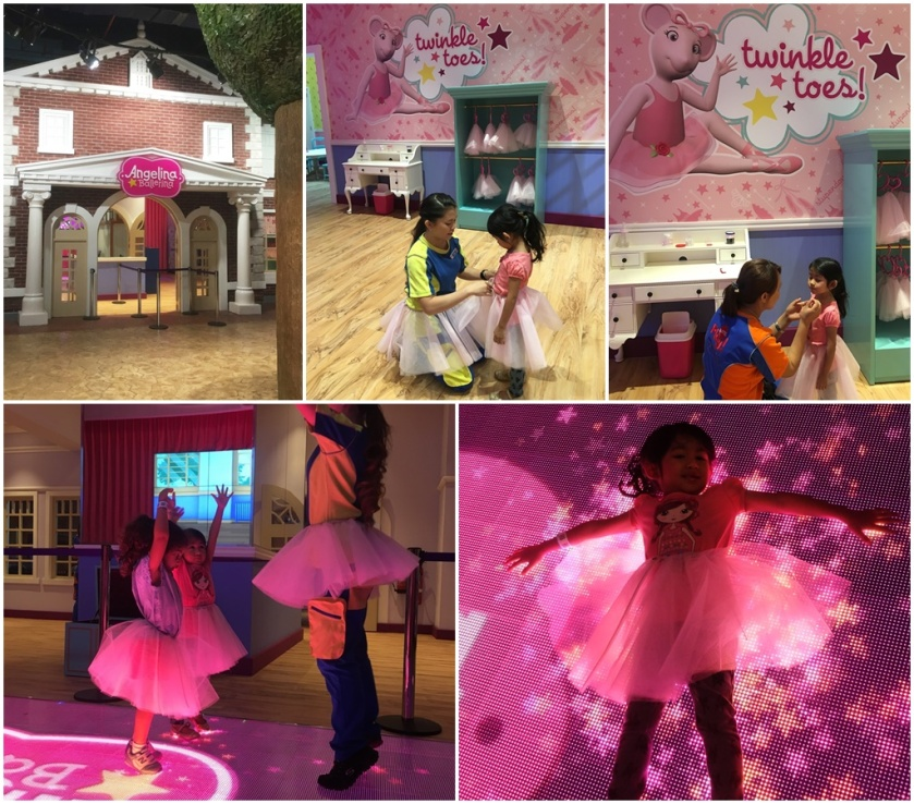 Angelina Ballerina play area at Play Town Dubai