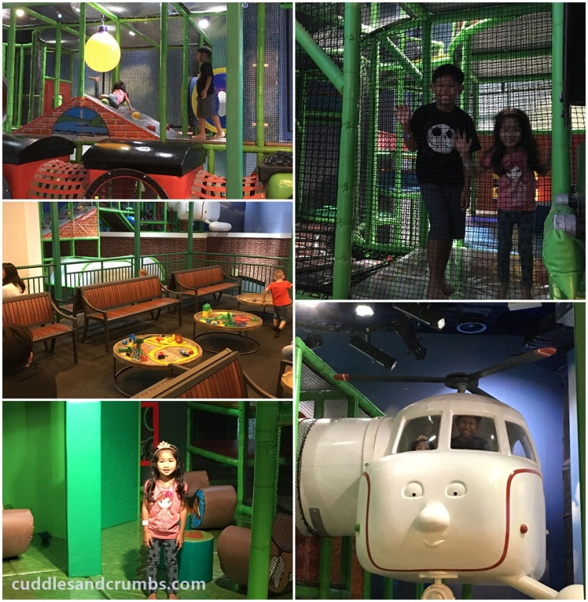 Thomas and Friends soft play area