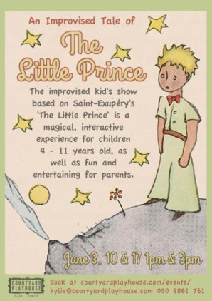 The Little Prince, Courtyard Playhouse