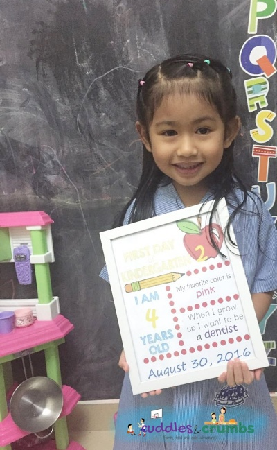 Chloe First Day in KG2