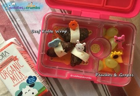Bento Lunch Box Beef Kofta