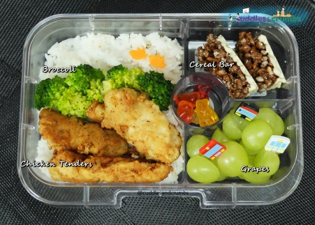 Chicken Tenders Bento Lunch Box