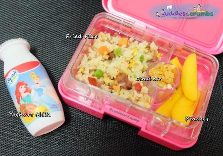 Bento Lunch Box Menu Fried Rice
