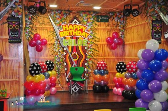 AdventureLand Sahara Centre Party Stage