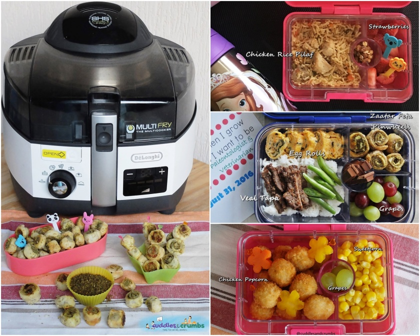 delonghi multifry review giveaway