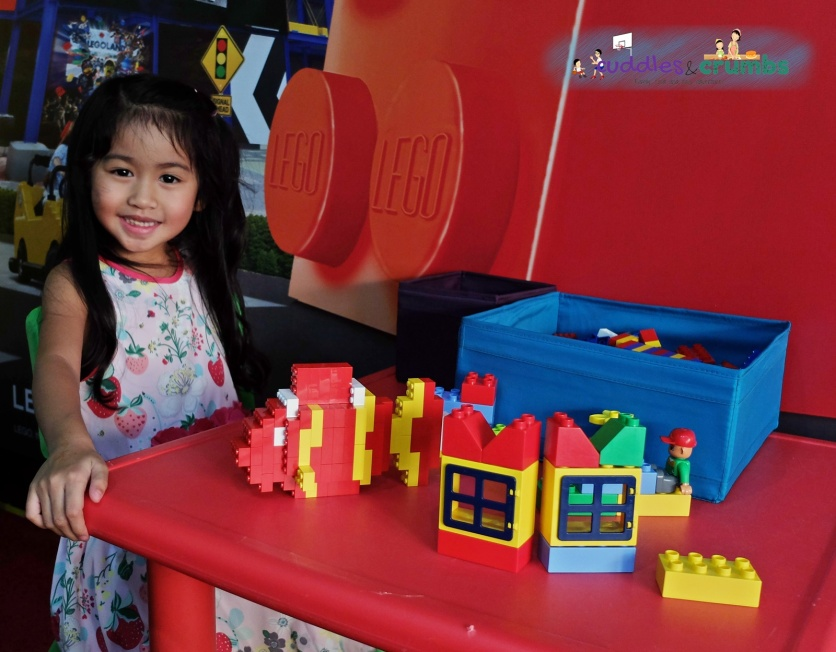 legoland dubai lego building session