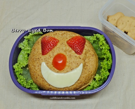burger bento lunchbox art