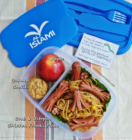 Al Islami Chicken Franks Bento Lunchbox