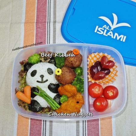 beef kibbeh lunchbox al islami