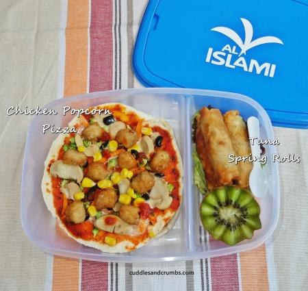 chicken popcorn lunchbox al islami bento