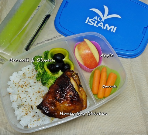 Honey Soy Chicken Bento