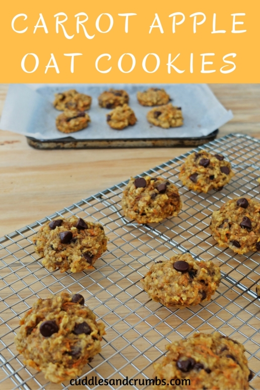 carrotappleoatmealcookies