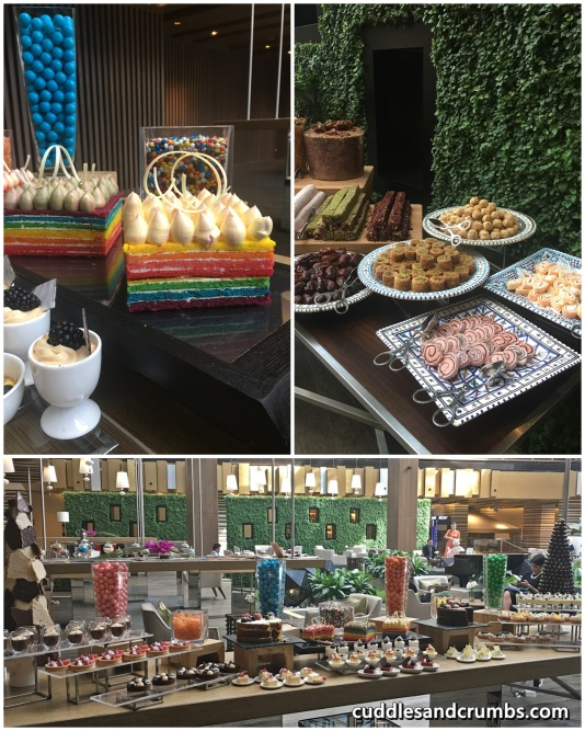 Sufra Friday Brunch Desserts Spread