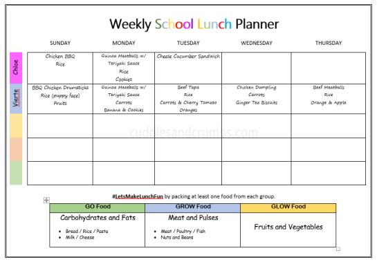 weekly-bento-lunch-box-menu-october-9-13