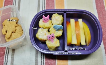 siomai bento lunchbox