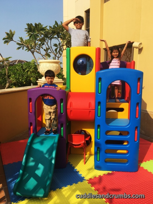 hawthorn suites family brunch kids play area