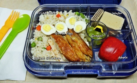 Chicken Fried Rice Lunchbox