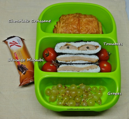 Sausage Musubi Lunch box goodbyn