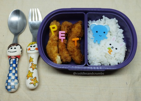 chicken fingers lunch box