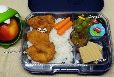 chicken fingers lunchbox yumbox