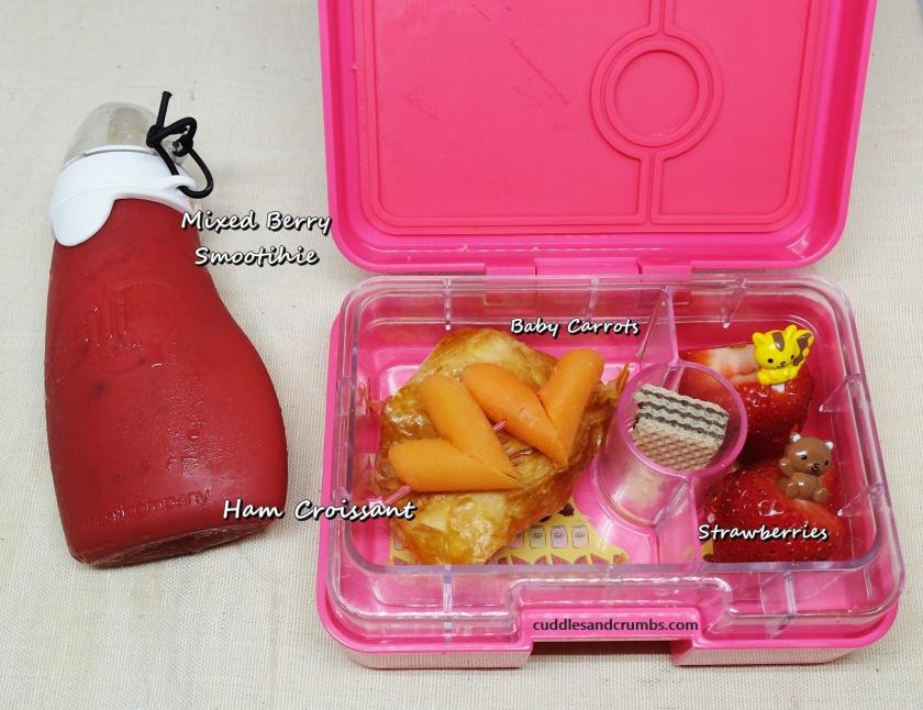 ham croissant lunchbox mini yumbox