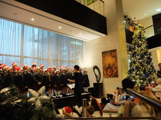 Nord Anglia International School Primary Carolers'