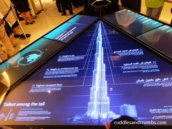 At the Top of Burj Khalifa