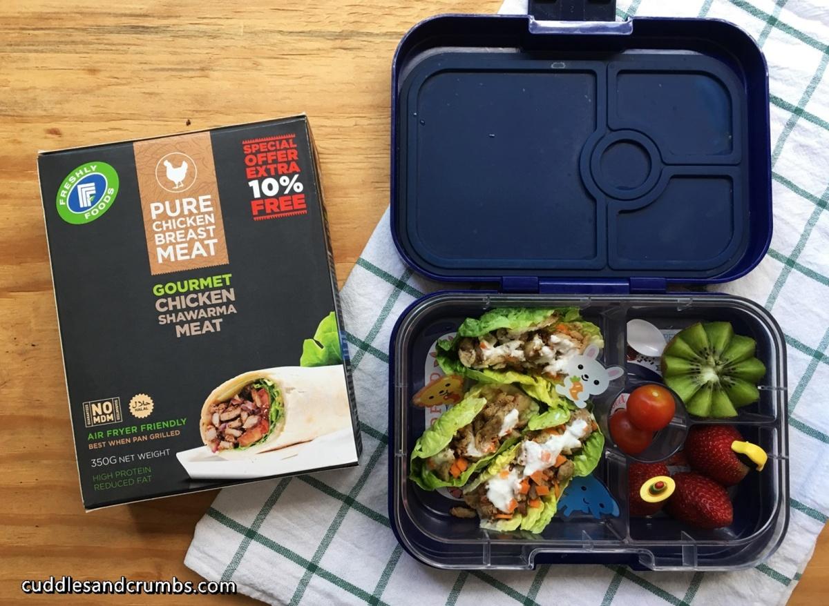 Freshly Foods Chicken Shawarma Lettuce Wrap