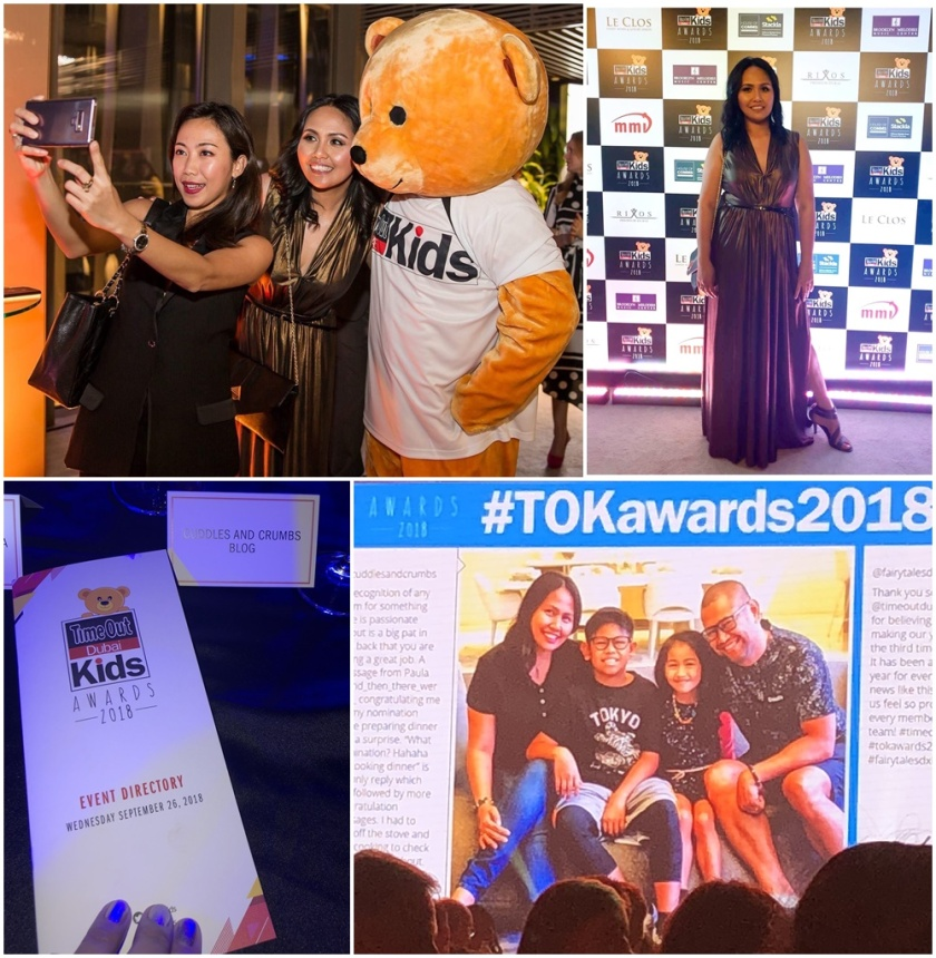 Time Out Dubai Kids Awards Night 2018 Abigail Caidoy