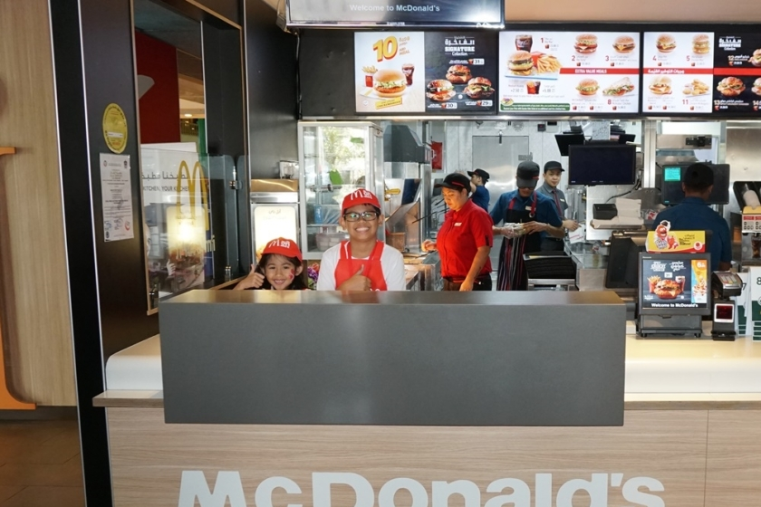 McDonalds Mini Crew Camp