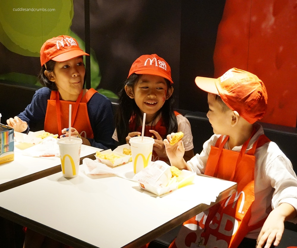 McDonalds Mini Crew Camp